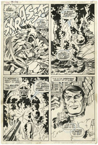 Jack Kirby and Bill Everett Thor #174 page 11 Original Art (Marvel, 1970)