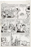 Original Comic Art:Panel Pages, Jack Kirby and George Roussos (as George Bell) Sgt. Fury #7,page 9 Original Art (Marvel, 1964)....