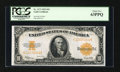 Large Size:Gold Certificates, Fr. 1173 $10 1922 Gold Certificate PCGS Choice New 63PPQ....