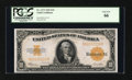 Large Size:Gold Certificates, Fr. 1173 $10 1922 Gold Certificate PCGS Gem New 66....