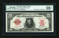 Large Size:Legal Tender Notes, Fr. 123 $10 1923 Legal Tender PMG Choice About Unc 58 EPQ....