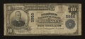 National Bank Notes:Pennsylvania, Monessen, PA - $10 1902 Plain Back Fr. 633 The Peoples NB Ch. # 5956. ...