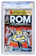 Modern Age (1980-Present):Science Fiction, Rom #25 (Marvel, 1981) CGC NM/MT 9.8 White pages....
