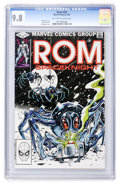 Modern Age (1980-Present):Science Fiction, Rom #30 (Marvel, 1982) CGC NM/MT 9.8 Off-white to white pages....