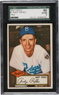 Baseball Cards:Singles (1950-1959), 1952 Topps Andy Pafko #1 SGC 80 EX/NM 6....