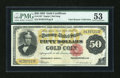 Large Size:Gold Certificates, Fr. 1197 $50 1882 Gold Certificate PMG About Uncirculated 53....