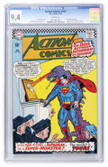 Silver Age (1956-1969):Superhero, Action Comics #333 (DC, 1966) CGC NM 9.4 White pages....