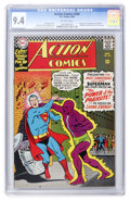 Silver Age (1956-1969):Superhero, Action Comics #340 (DC, 1966) CGC NM 9.4 Off-white pages....