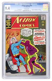 Action Comics #340 (DC, 1966) CGC NM 9.4 Off-white pages