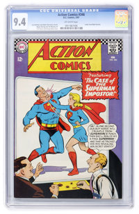 Action Comics #346 (DC, 1967) CGC NM 9.4 Off-white pages