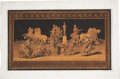 Antiques:Posters & Prints, Carmine Pignataro. Untitled Print. A hand-colored engraving depicting a classical frieze. In very good condition....