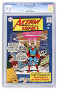 Silver Age (1956-1969):Superhero, Action Comics #328 (DC, 1965) CGC NM- 9.2 White pages....