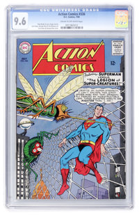 Action Comics #326 (DC, 1965) CGC NM+ 9.6 Cream to off-white pages