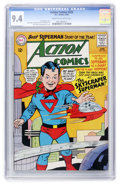 Silver Age (1956-1969):Superhero, Action Comics #325 (DC, 1965) CGC NM 9.4 Cream to off-white pages....