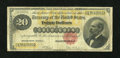 Large Size:Gold Certificates, Fr. 1178 $20 1882 Gold Certificate Very Good-Fine....