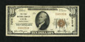 National Bank Notes:Pennsylvania, Cecil, PA - $10 1929 Ty. 1 The First NB Ch. # 7076. ...