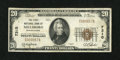 National Bank Notes:Pennsylvania, Millsboro, PA - $20 1929 Ty. 1 The First NB Ch. # 7310. ...