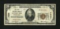 National Bank Notes:Pennsylvania, Scenery Hill, PA - $20 1929 Ty. 1 The First NB Ch. # 7262. ...