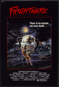 """Frightmare Lot (Saturn International, 1983). One Sheet (27"""" X 41"""") and Pressbook (Multiple Pages, 11"""" X 1..."""