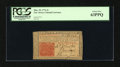 Colonial Notes:New Jersey, New Jersey March 25, 1776 3s with John Hart Signature PCGS Choice New 63PPQ....