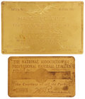 "Baseball Collectibles:Others, 1930's-40's Rhoderick ""Bobby"" Wallace Baseball Passes Lot of 2...."