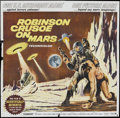 "Movie Posters:Science Fiction, Robinson Crusoe On Mars (Paramount, 1964). Six Sheet (81"" X 81"").Science Fiction.. ..."