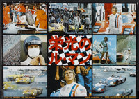 """Le Mans (National General, 1971). Japanese B1 (40"""" X 29""""). Sports"""