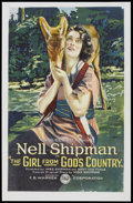 "Movie Posters:Fantasy, The Girl from God's Country (F.B. Warren, 1921). One Sheet (27"" X 41""). Fantasy.. ..."