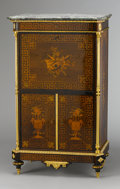 Furniture : French, A FRENCH NAPOLEON III ROSEWOOD SECRETAIRE À ABATTANT. Charles-Guillaume Diehl (French, 1811-circa 1885), Circa 1880. Lock st...