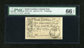Colonial Notes:South Carolina, South Carolina April 10, 1778 10s PMG Gem Uncirculated 66 EPQ....