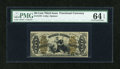 Fractional Currency:Third Issue, Fr. 1370 50c Third Issue Justice PMG Choice Uncirculated 64 EPQ....