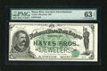 Obsoletes By State:Minnesota, Austin, MN- Hayes Bros. Jewelers Ad Note. ...