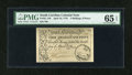 Colonial Notes:South Carolina, South Carolina April 10, 1778 3s/9d PMG Gem Uncirculated 65 EPQ....