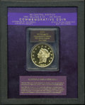 "S.S.C.A. Relic Gold Medals, 1855 $50 SSCA Relic Gold Medal ""1855 Kellogg & Co. Fifty"" GemProof PR60 PCGS. Includes a Certificate of Authenticity. PCGS..."
