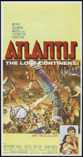 "Movie Posters:Adventure, Atlantis, the Lost Continent (MGM, 1961). Three Sheet (41"" X 81"").Adventure.. ..."