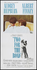 "Movie Posters:Drama, Two for the Road (20th Century Fox, 1967). Three Sheet (41"" X 81"").Drama.. ..."