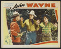 """Movie Posters:Western, The Trail Beyond (Monogram, R-1930s). Stock Lobby Card (11"""" X 14"""").Western.. ..."""