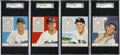 Baseball Cards:Sets, 1952 Red Man Baseball High Grade Partial Set (39/52) - All With Tabs....