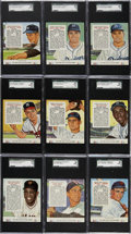Baseball Cards:Sets, 1954 Red Man Baseball Collection (24 Different)....
