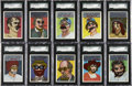 "Non-Sport Cards:Sets, 1967 Topps ""Who Am I?"" High Grade Complete Set (44)...."