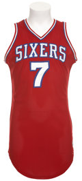 Basketball Collectibles:Uniforms, 1979-80 Pete Maravich Game Issued Jersey....
