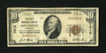 National Bank Notes:Kentucky, Dry Ridge, KY - $10 1929 Ty. 1 The First NB Ch. # 7012. ...