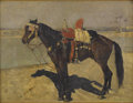 Fine Art - Painting, European:Antique  (Pre 1900), ERNEST GIROUX (French, 1851). The Favorite. Oil on canvas.9-1/2 x 12-1/2 inches (24.1 x 31.8 cm). Signed lower left:...