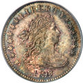 Early Dimes, 1798/97 10C 13 Stars on Reverse MS62 PCGS....