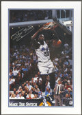 Basketball Collectibles:Others, Shaquille O'Neal Signed Oversized Framed Photograph....