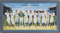 Autographs:Others, 500 Home Run Club Signed Framed Print....