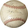 Autographs:Baseballs, 1939 New York Giants Team Signed Baseball....