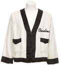 "Boxing Collectibles:Memorabilia, 1974 Drew ""Bundini"" Brown Cornerman's Jacket Worn During Ali vs.Frazier Bout...."