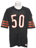 Football Collectibles:Uniforms, Circa 1985 Mike Singletary Game Worn Jersey....