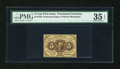 Fractional Currency:First Issue, Fr. 1229 5c First Issue PMG Choice Very Fine 35 EPQ....